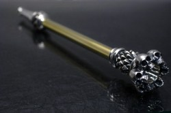 髑髏の環 シガレット煙管