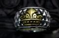 ダイヤのキングbrassリング